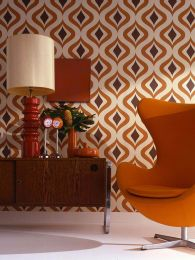 Papel de parede Triton laranja